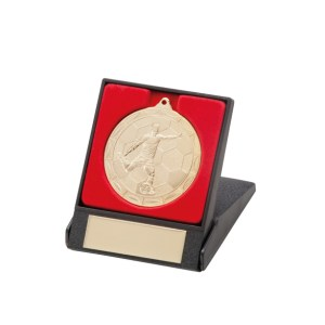 50mm Football Medals In Boxes