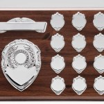 Wooden Annual Plaques With Silver Trims