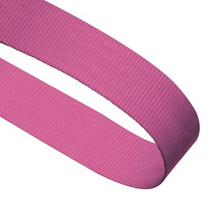 Pink Woven Medal Ribbons With Clip