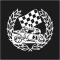 Motor Bike Wreath Winner Logo 1