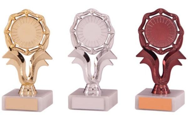Centre Holder Trophies on White Marble Base