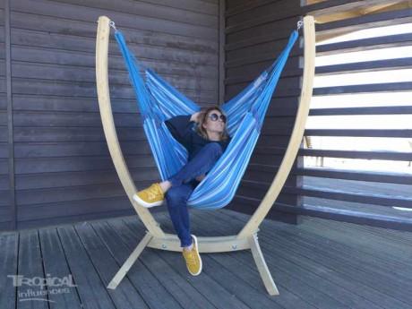 hamac chaise avec support paquito laguna xl
