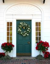 Tropical Christmas Door Decorations, Holiday Door ...