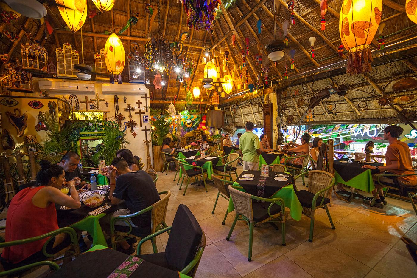 Restaurante Tropical Playa del Carmen Mxico