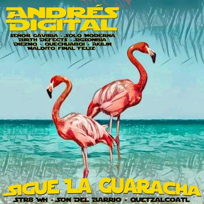 Release - Andrés Digital - Sigue la Guaracha - the Art of Remix Album