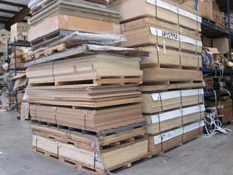 Marine Plywood Stacks