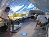 Rebuilding Whale Watching Tenders Part 14