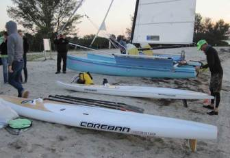 Coreban SUPs and Hobie 18