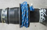 Adventure Island Mast Furler Drum Epoxy Repair