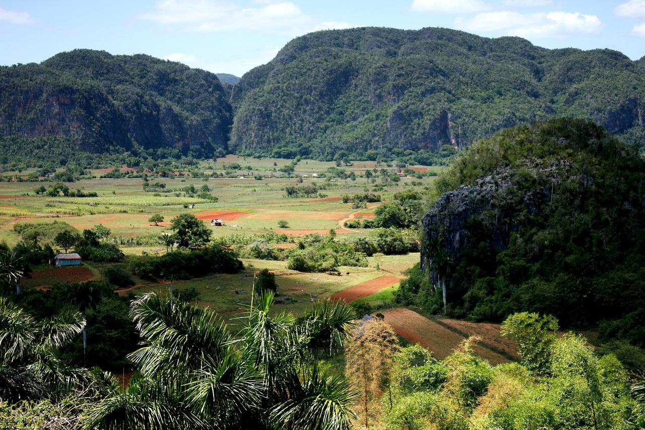 Vallée des Vinales à Pinar del Rio Cuba