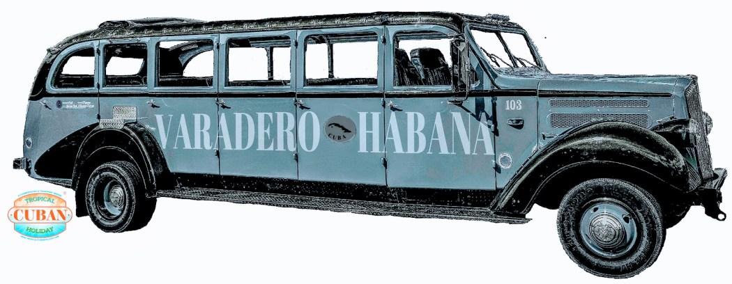 Vintage Guagua Havana Cuba by tropicalcubanholiday.com