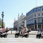 PIAGGIO MP3 SCOOTER tour through Havana by tropicalcubanholiday.com