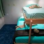 Sleeping Cabin of yacht Avalon II - diving tour in Jardines de la Reina