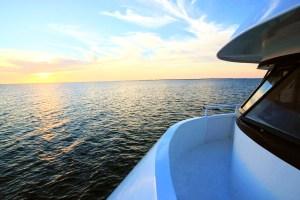 Super Yacht Avalon II - sunset - Diving Tour in Jardines de la Reina in Cuba