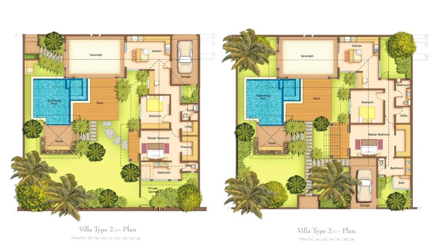 Plan De Maison Villa Antilles | Ifmore