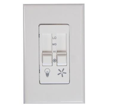 623LW Ceiling Fan Speed Control and Light Dimmer Switch