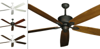 72inch Hercules Extra Large Ceiling Fan with Arbor 750 Blades