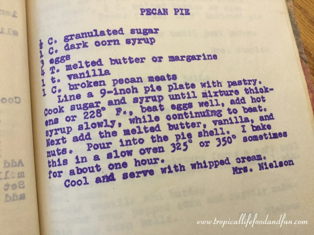 Mom's Recipe Contribution to the Mother's Day Cookbook