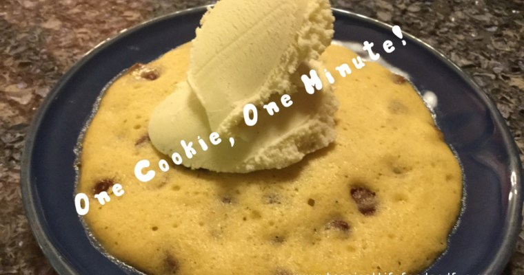 The Incredible One-Minute Cookie