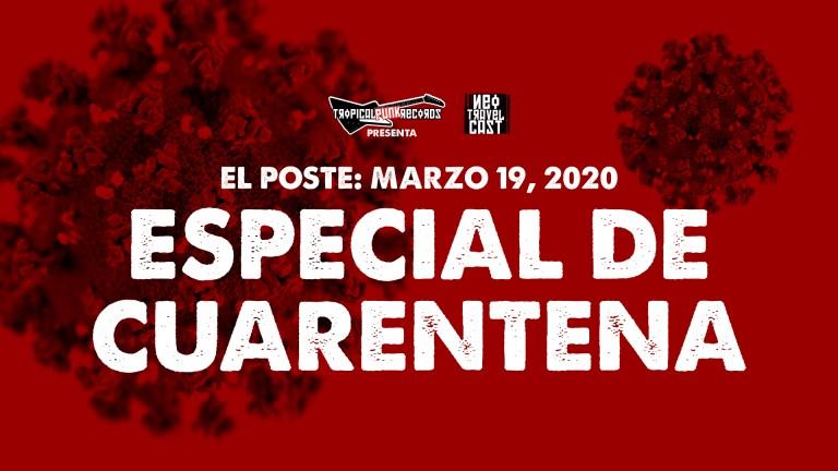 El Poste con Los Maricas, Peste, Rodrigo D No Futuro, A.S.M.A | ESPECIAL DE CUARENTENA