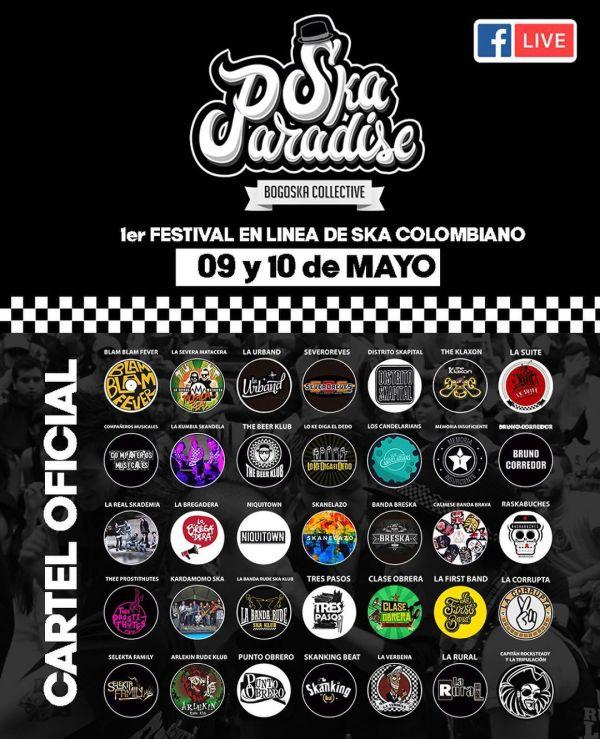 35 bandas de Ska de Colombia