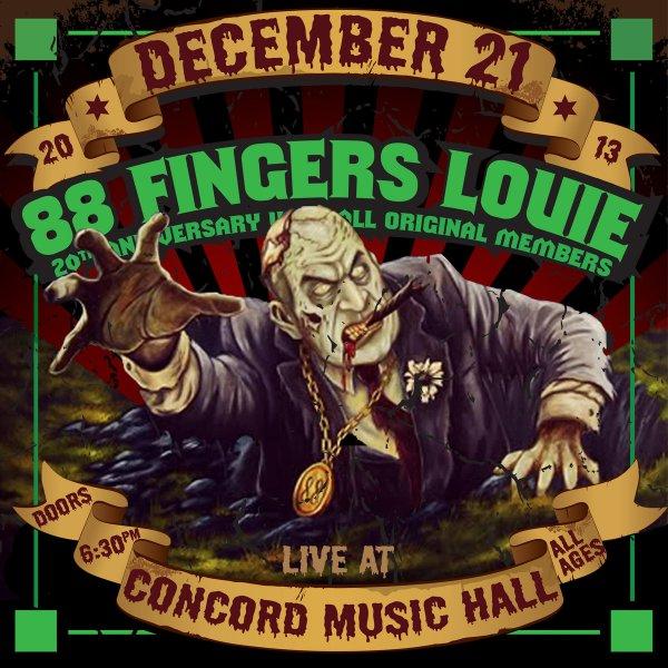 88 FIngers Louie live album