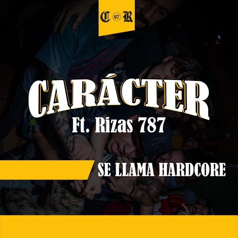Carácter le hace un llamado al hardcore con su nuevo sencillo