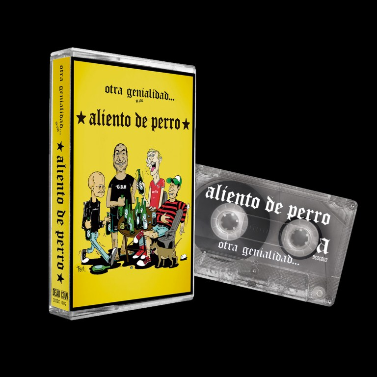 Dead Cow Store le sigue apostando al cassette con una edición de Aliento de Perro