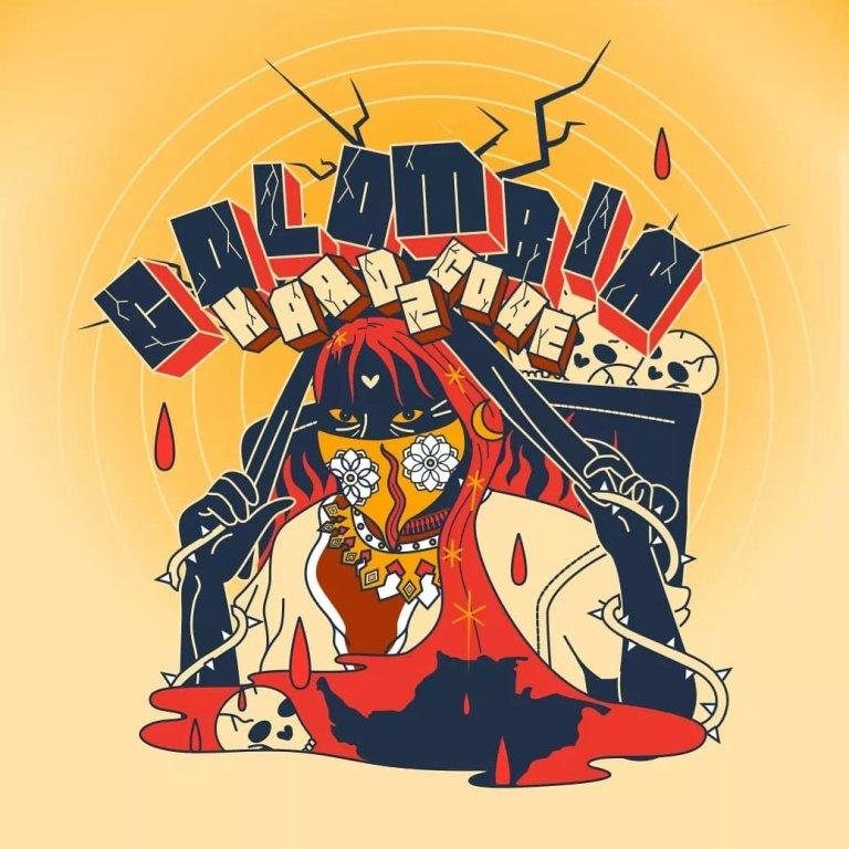 Este es el compilado de Hardcore que reune a bandas de toda Colombia