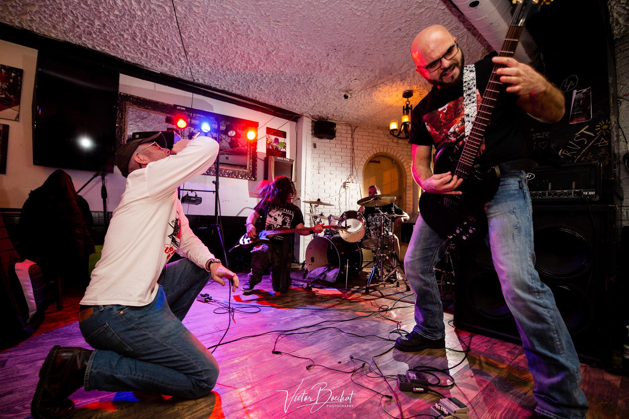 The Slime, banda de hardcore punk de Toronto (Canada)