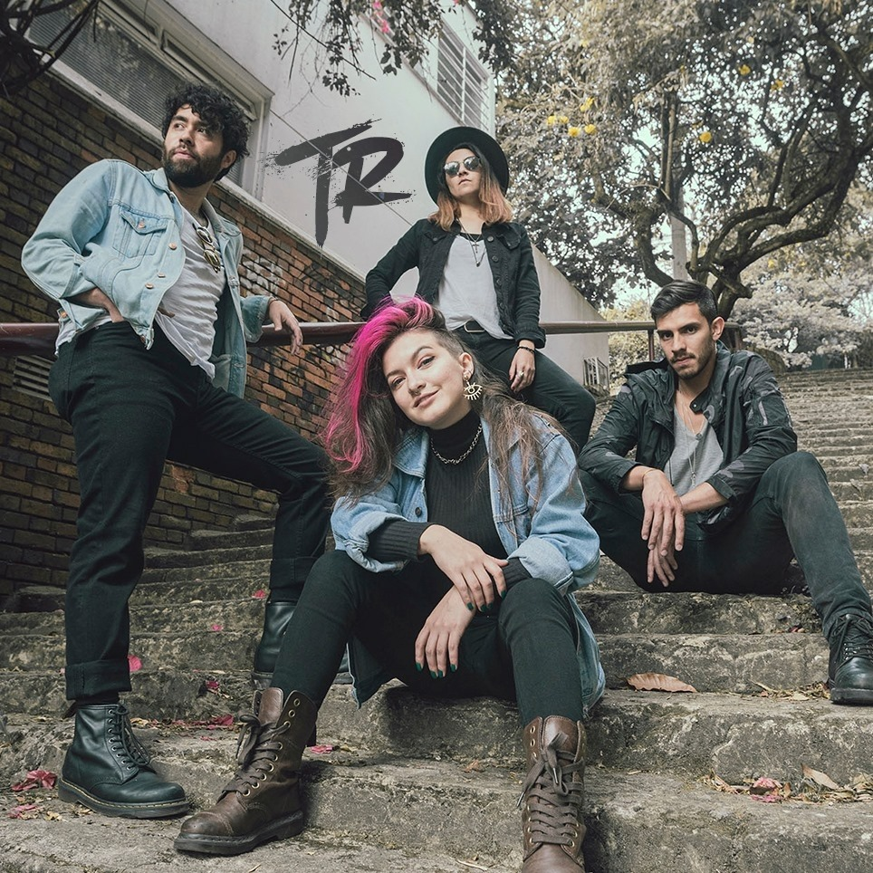 Toke Rosa, banda de Power Pop de Bogotá en El Poste un programa de Tropical Punk Records