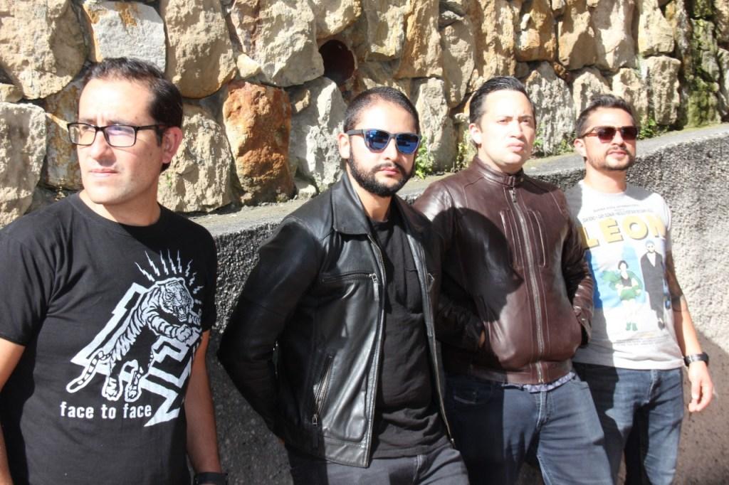 Banda de pop punk de Bogotá - Cuatro x Cuatro