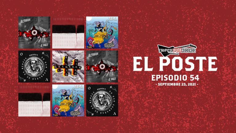 El Poste con La Perrera Punk, Minoria, Futura Kadavro, NPI, Okvlta y El Piloto Ciego