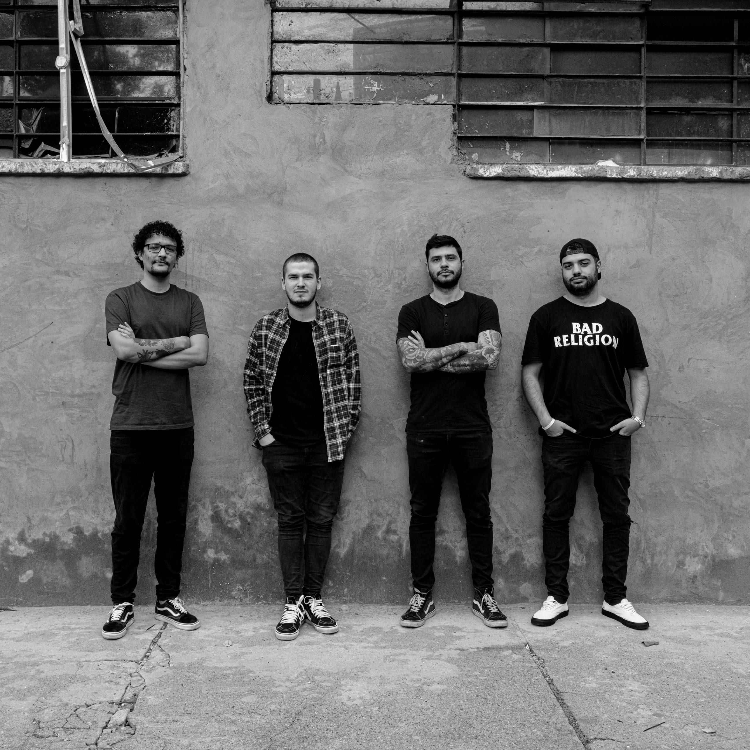 Minoría - Punk melódico desde Medellín, Colombia