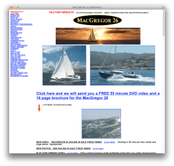 MacGregor has a content-rich, incredibly useful, but butt-ugly site.