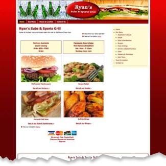 Ryan's Subs & Sports Grill