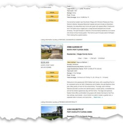 MLS Listings can be displayed on a page by using a simple shortcode.