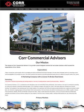 Corr Commercial Advisors