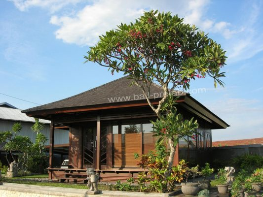 Bali Wooden House Tropical House Manufacture Knockdown Gazebo