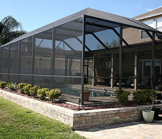 Patio Screen Tampa Porch  Tropicana Screen  Glass Inc