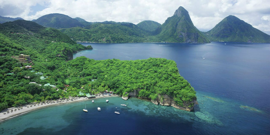 Weddings at Anse Chastanet Resort  St Lucia from Caribbean Weddings