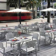 Outdoor Restaurant Chairs Wooden Second Hand Impressions Cafe Tropitone Furniture