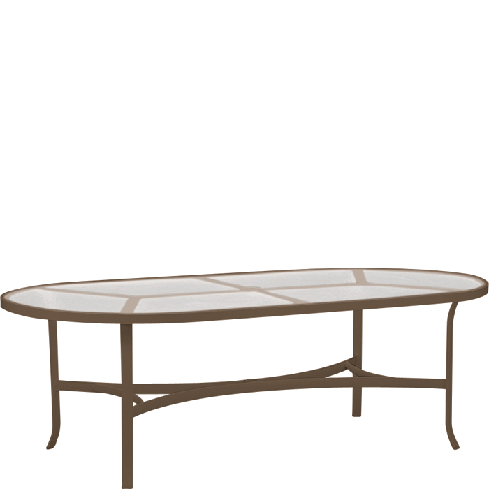 Dining Table: Tropitone Oval Dining Table
