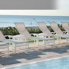 Chaise Lounge Chairs Pool Childs Table And Chair Set Sling Furniture | Resort Hotel Tropitone