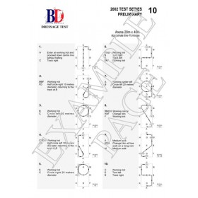British Dressage Intro C (2016) test sheet with diagrams