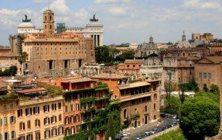 ROMA, DÍA 2: FORO, PALATINO, IGLESIAS DEL CELIO Y COLISEO