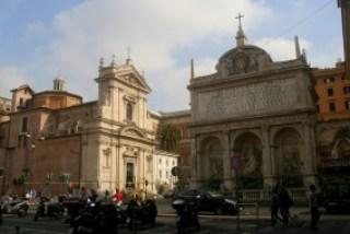 FONTANA DELL' AQUA FELICE-IGLESIA DI ST.MARÍA DELLA VITTORIA