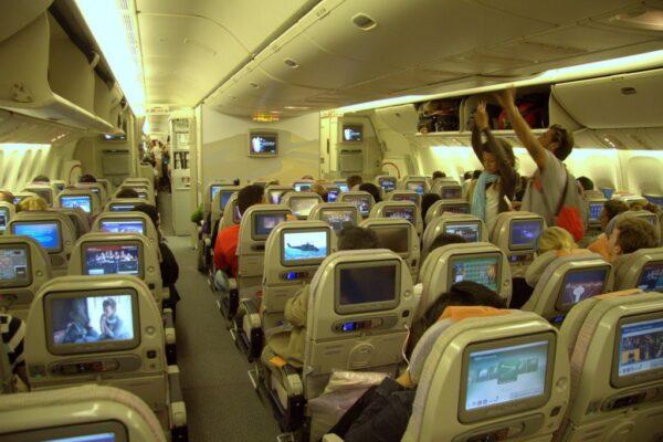 INTERIOR DEL BOING 777 DE EMIRATES