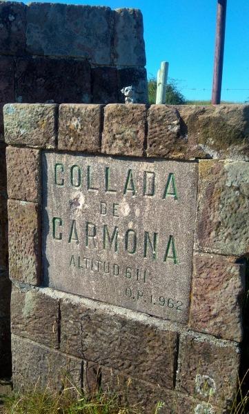 CARTEL DE COLLADA DE CARMONA