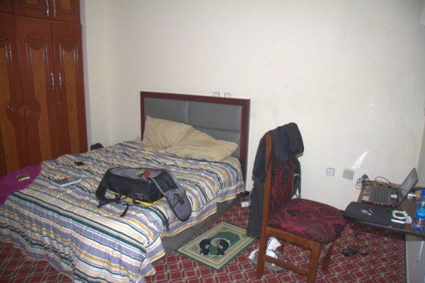 HABITACIÓN DEL HOTEL MELALA ADDIS EN ADDIS ABEBA